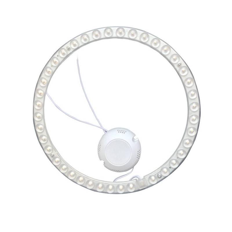 Modulo LED circolare magnetico con foro 200-240 V - 20 W