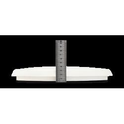 Plafoniera LED tonda 25 cm Ø con EMERGENZA E SENSORE INTEGRATI - 12 W