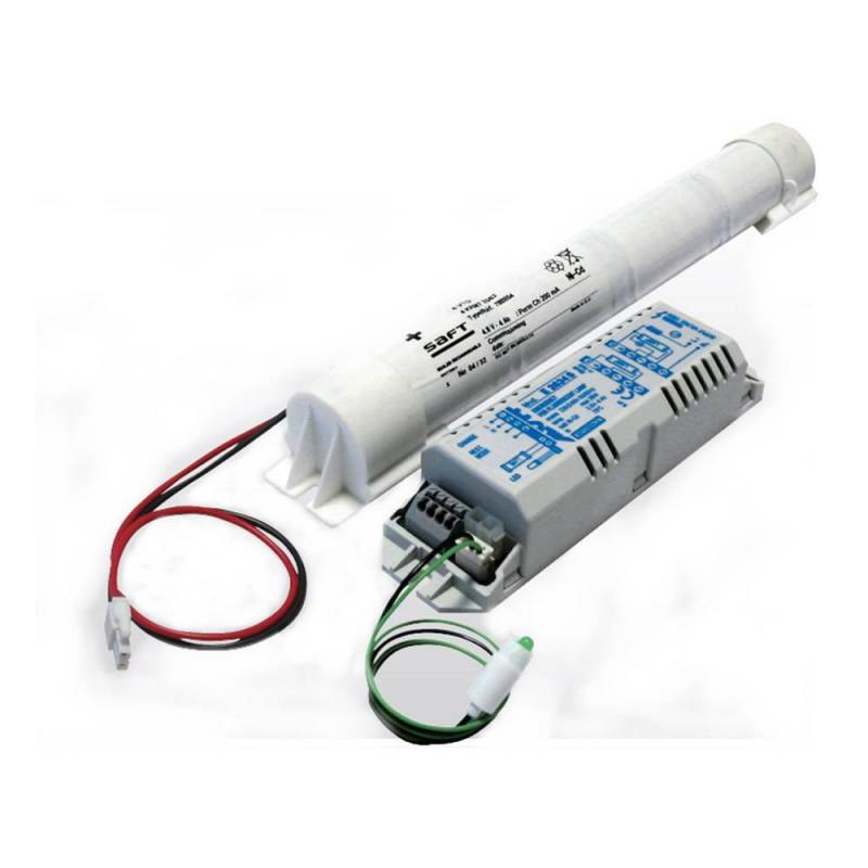 Kit Emergenza LED ER5844 - lamps 18-58 W - Autonomy 1h -  Batt. 4,8 V - 4 Ah