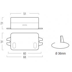 Alimentatore per LED - Serie AL3