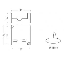 SERIE AL8 Alimentatore per LED - CC  - 5,6/6/7,7 W