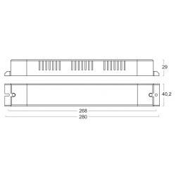 AL15024 Alimentatore per LED - CV 24 V - 150 W