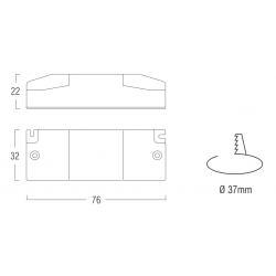 SERIE CL24DM Converter dimmerabile per LED multicorrente