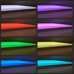 LED panel with customized sizes in RGB version - color change