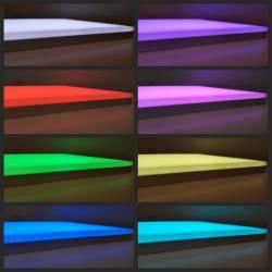 Pannello LED con misure personalizzate in versione RGB - cambio colore