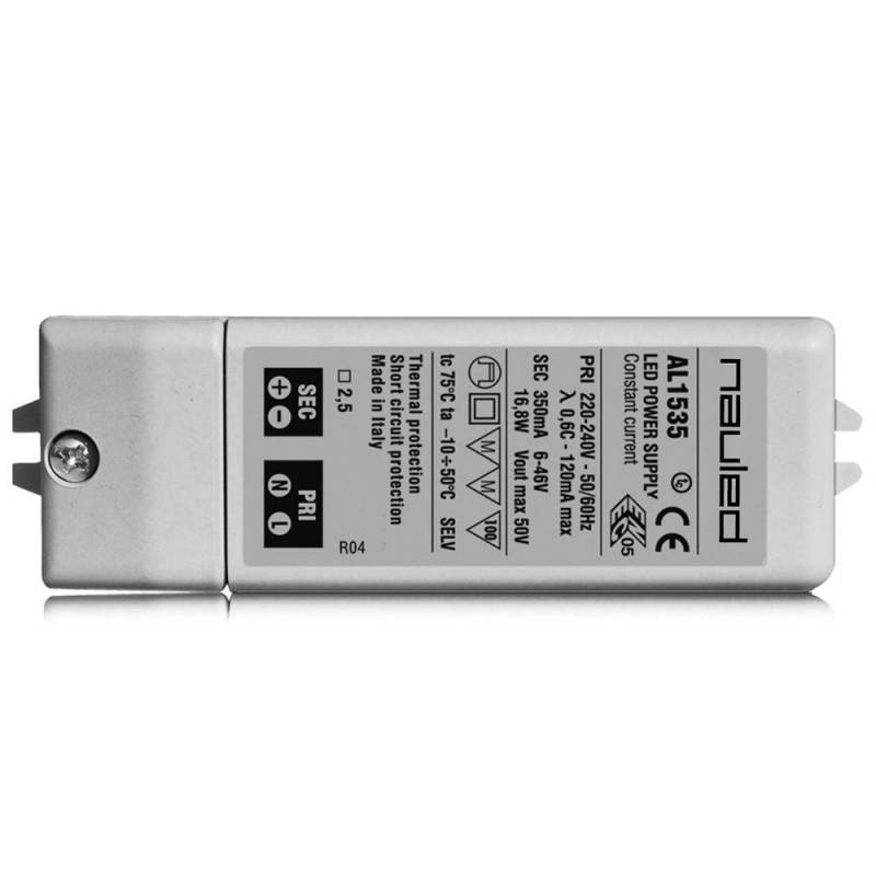 AL15 SERIES - LED power supply ON/OFF - CV 12/24 V  - 16 W