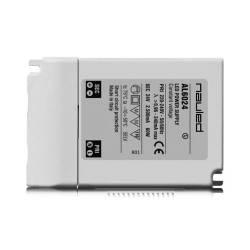 SERIE AL60P Alimentatore dimmerabile per LED - CV 24 V - 60 W