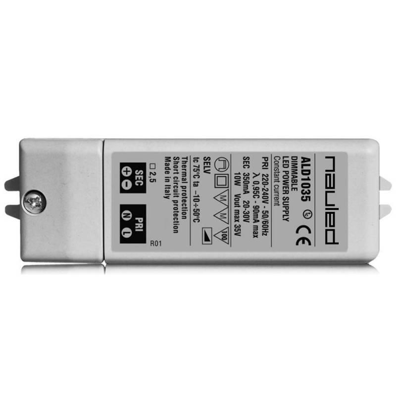 SERIE ALD10 Alimentatore dimmerabile per LED - CC  - 8/10/11 W