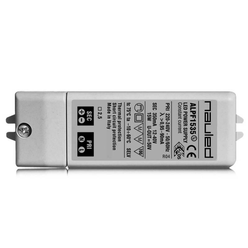 SERIE ALPF15 Alimentatore per LED ON/OFF - CC  - da 16 a 22 W