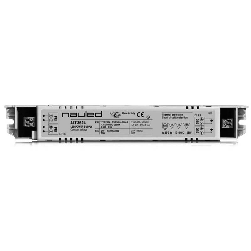 SERIES ALT36 LED power supply ON/OFF - CV 24 V - 36 W