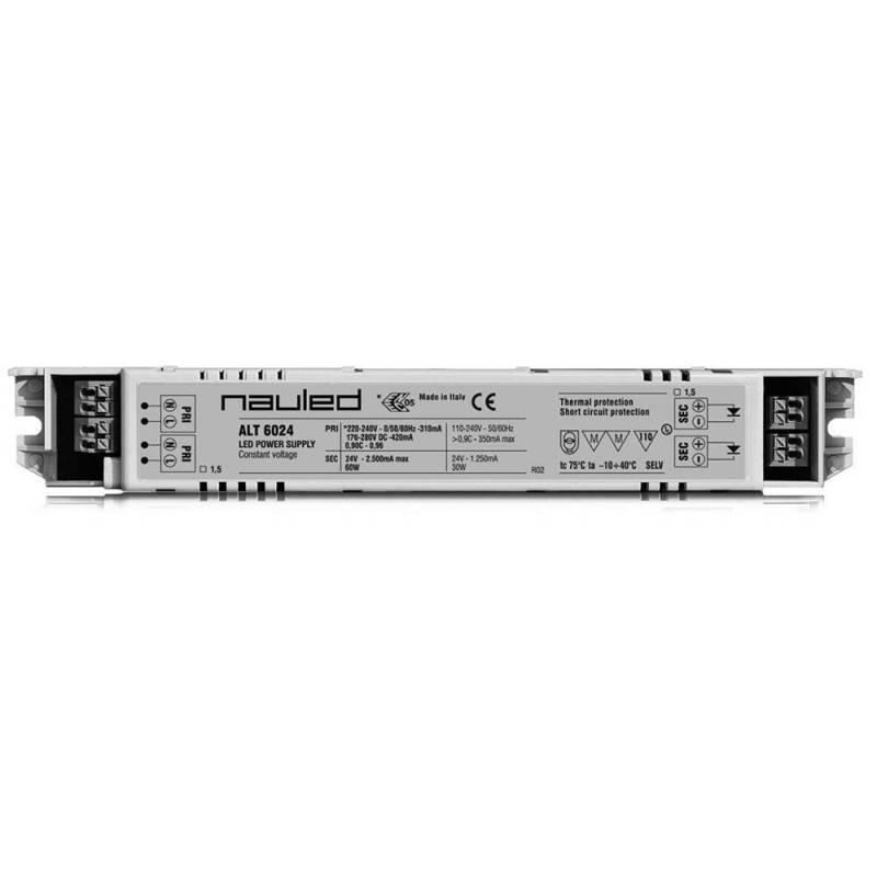 ALT6024 Alimentatore per LED - CV 24 V - 60 W