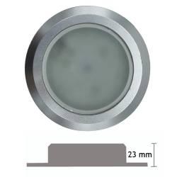 Faretto LED da incasso rotondo 3,5 W - 3PL53/65 - spessore 23 mm