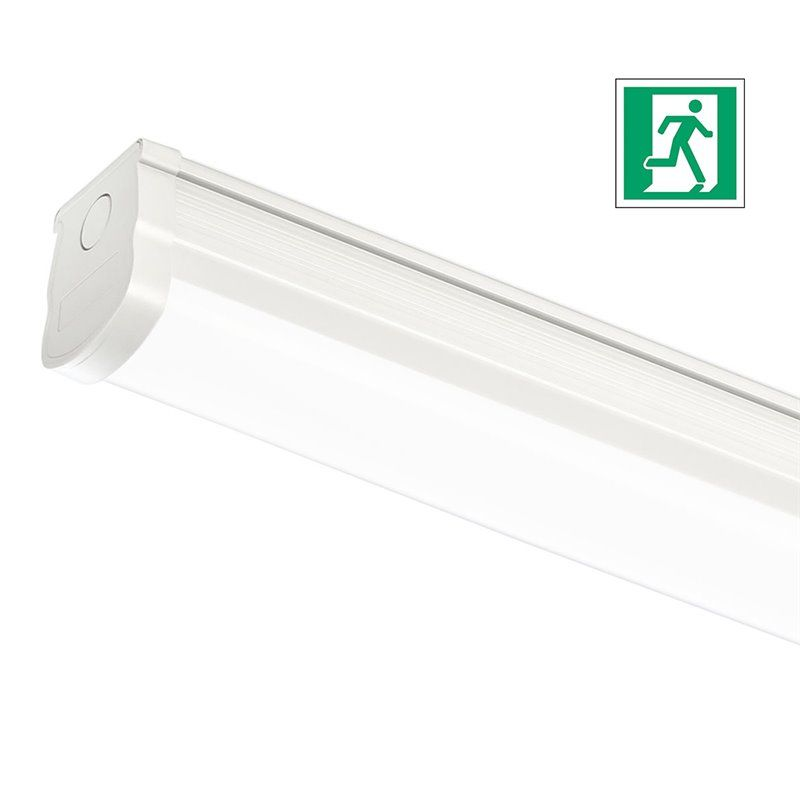 LED lamp for lift machine locals with integrated EMERGENCY - 58 W