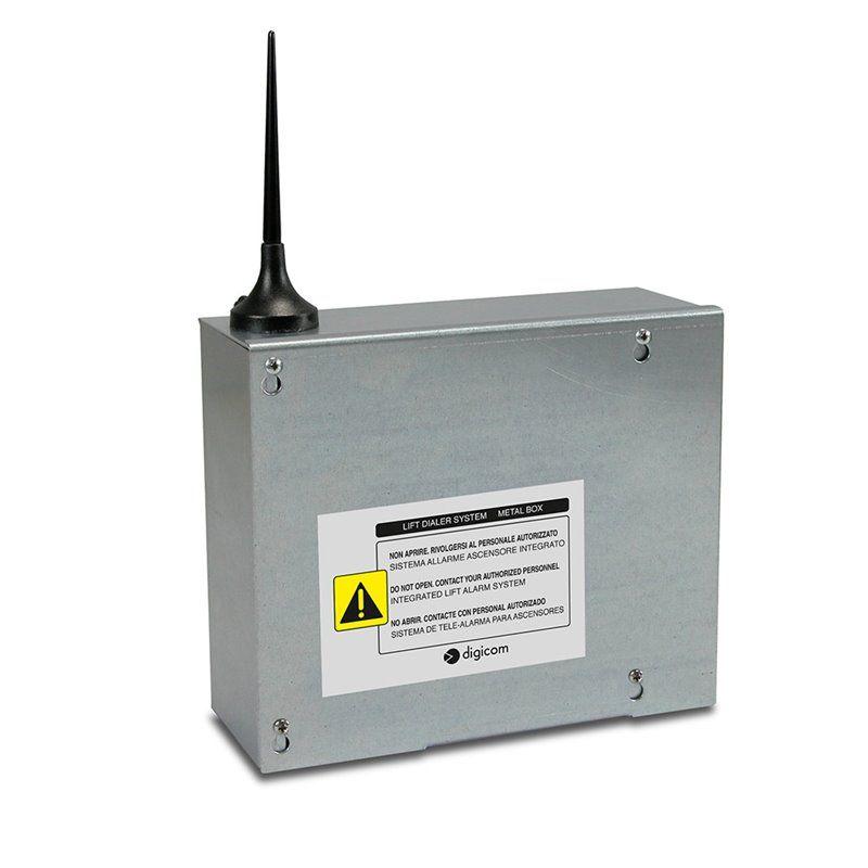 Sistema di Teleallarme Ascensori - 2G LIFT DIALER METAL BOX - Digicom
