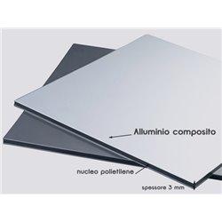 Dibond panels for lift cabin coating