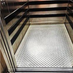 Sostituzione paminenti cabina ascensore in LAMIERA