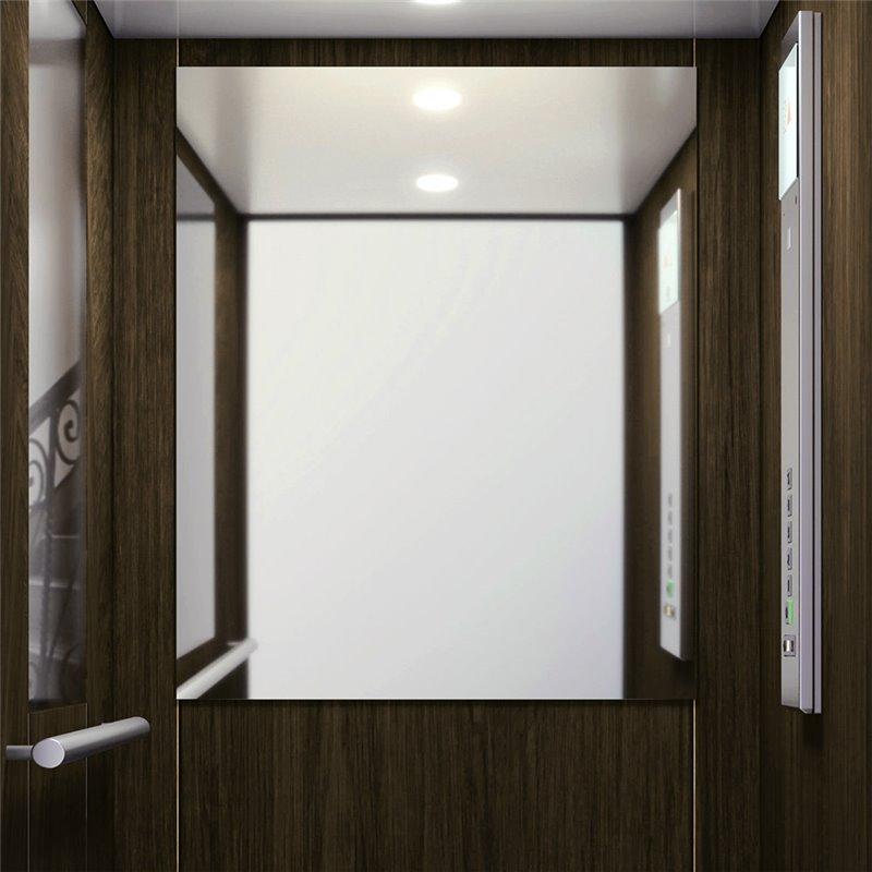 Sostituzione SPECCHIO cabina ascensore
