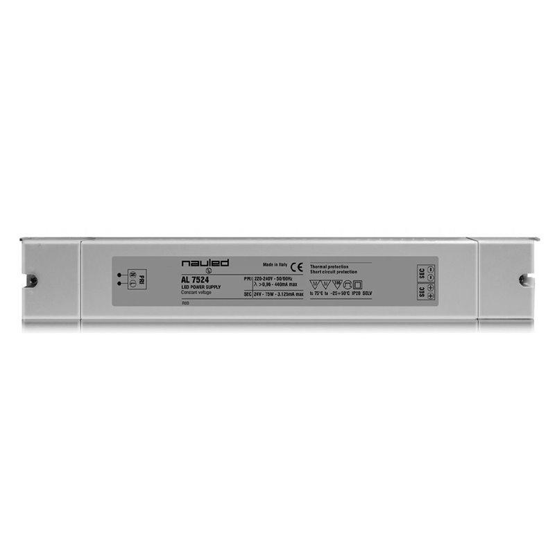 AL7524 Alimentatore per LED - CV 24 V - 75 W