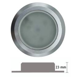 Recessed Round LED Spotlight 3.5 W with height of 23 mm