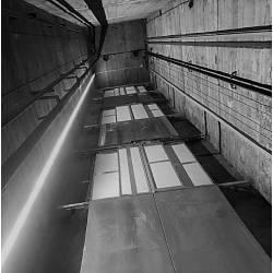 Lighting lift shaft/ cabin roof