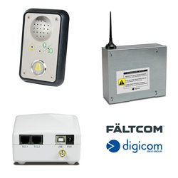 Emergency telephone Faltcom for elevator and lift cabins