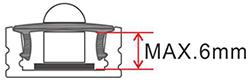 dimensions motion sensor pir002