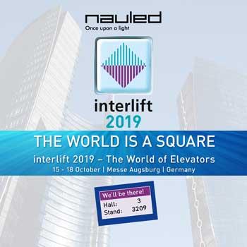 INTERLIFT 2019 e 10 anni di Nauled. 10 anni di NOI.