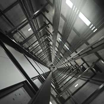 Kit illuminazione vano ascensore con striscia led